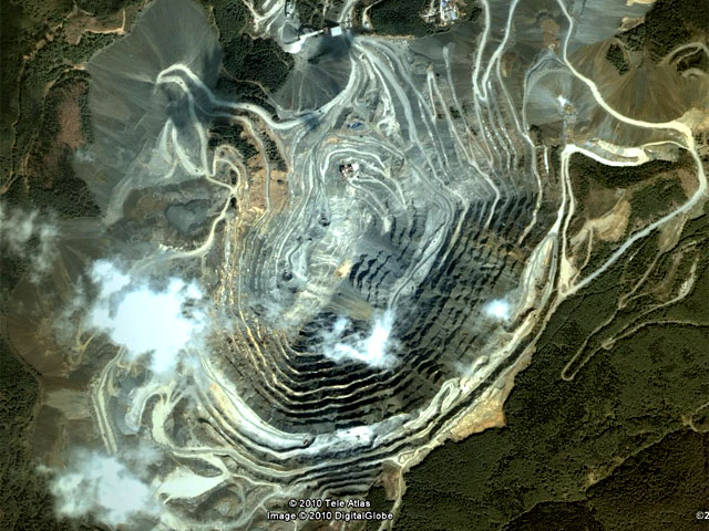 Открит рудник Елаците