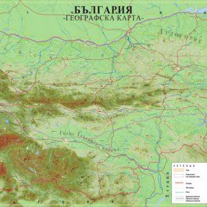 Geografska Karta Blgariya